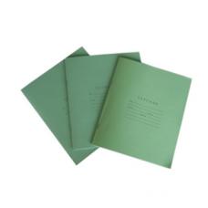 რვეული 12 ფ. მწვანე უჯრა